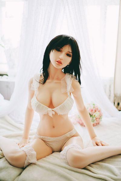 Premium silicone sex doll Britta
