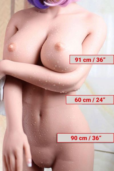 168cm / 5ft5 / G-Cup