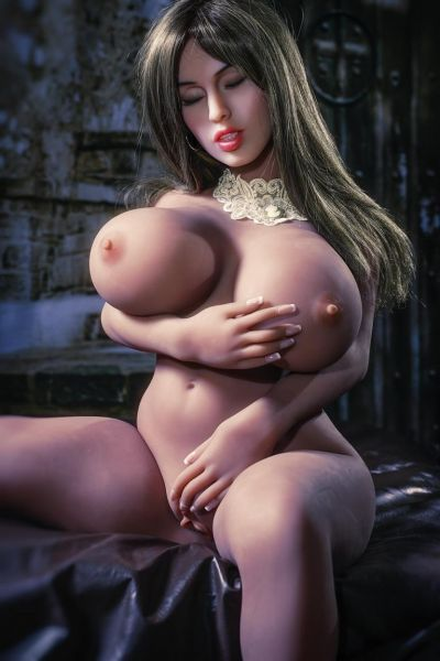 Premium TPE sexdoll-Leslie-eye-to